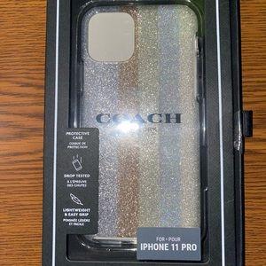 Coach Phone Case 11 Pro Apple